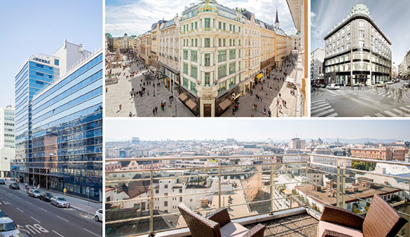 Office space in Vienna and 26 other cities in Austria
