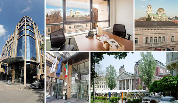 Co-working in Sofia and 4 other cities in Bulgaria