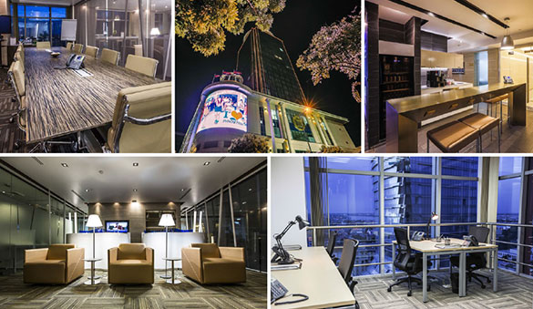 Office space in Phnom Penh and 3 other cities in Cambodia