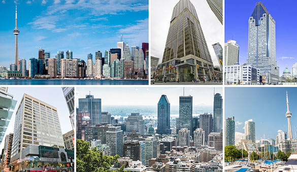 Office space in Toronto and 126 other cities in Canada