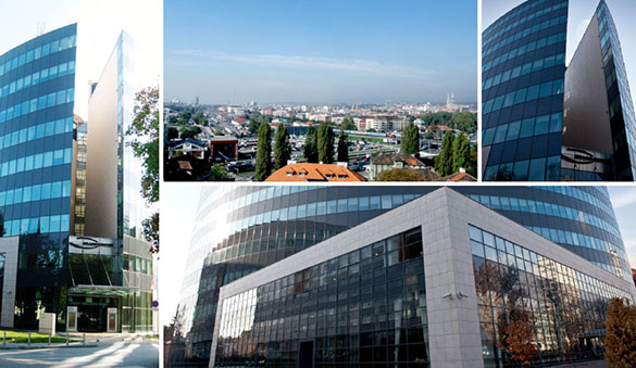 Office space in Zagreb and 3 other cities in Croatia