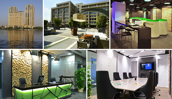 Co-working in New Cairo and 9 other cities in Egypt