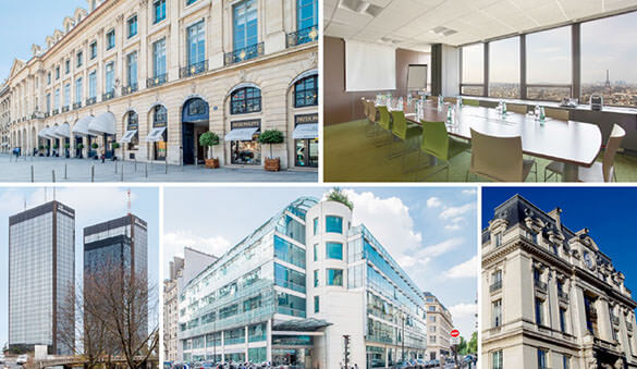 Office space in Paris and 124 other cities in France