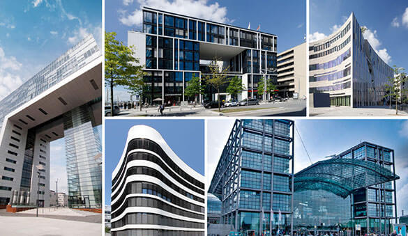 Office space in Dusseldorf and 146 other cities in Germany