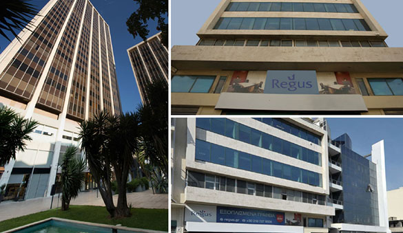 Office space in Thessaloniki and 9 other cities in Greece