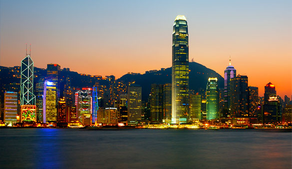 Office space in Hong Kong Island and 15 other cities in Hong Kong