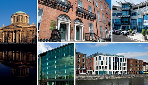 Office space in Dublin and 14 other cities in Ireland