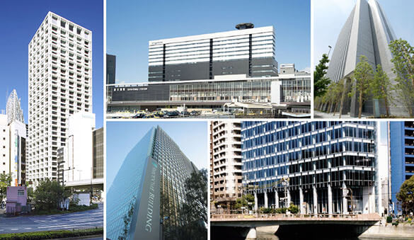 Office space in Yokohama and 165 other cities in Japan