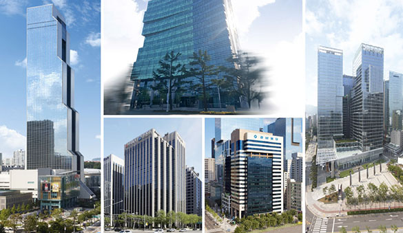 Office space in Seoul and 11 other cities in Korea, Republic of