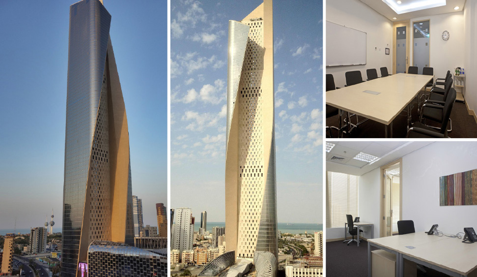 Office space in Kuwait City and 2 other cities in Kuwait