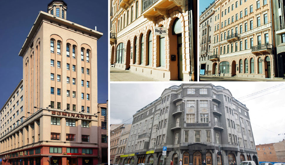 Office space in Riga and 3 other cities in Latvia