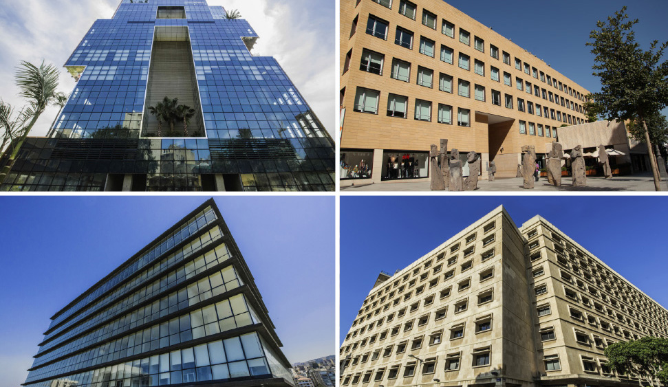 Office space in Beirut and 4 other cities in Lebanon