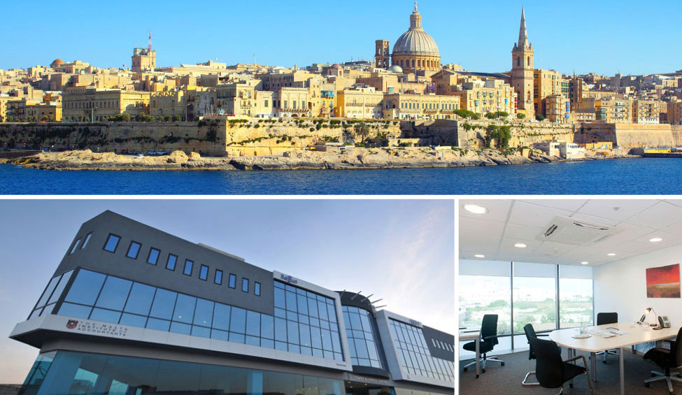 Virtual offices in St Julian's and 3 other cities in Malta
