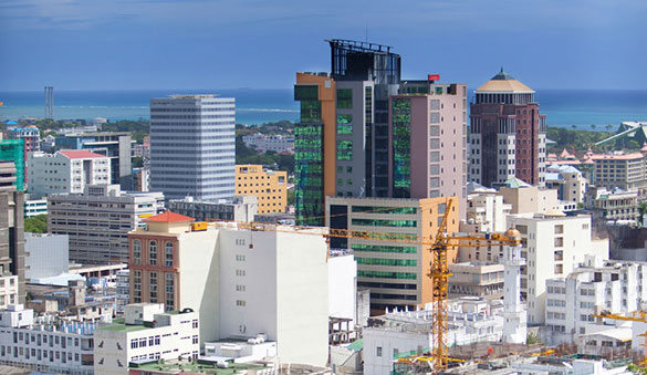 Virtual offices in Port Louis and 2 other cities in Mauritius
