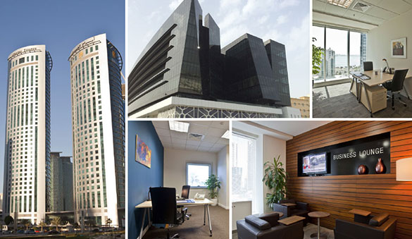 Virtual offices in Doha and 9 other cities in Qatar