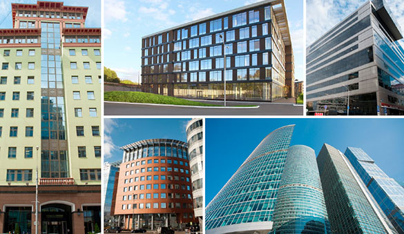 Office space in Chelyabinsk and 16 other cities in Russia