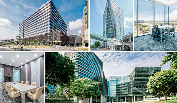 Virtual offices in Singapore and 24 other cities in Singapore