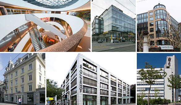 Office space in Zurich and 52 other cities in Switzerland