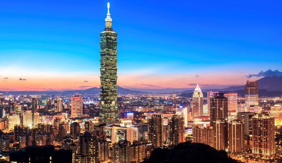 Office space in Taipei and 14 other cities in Taiwan