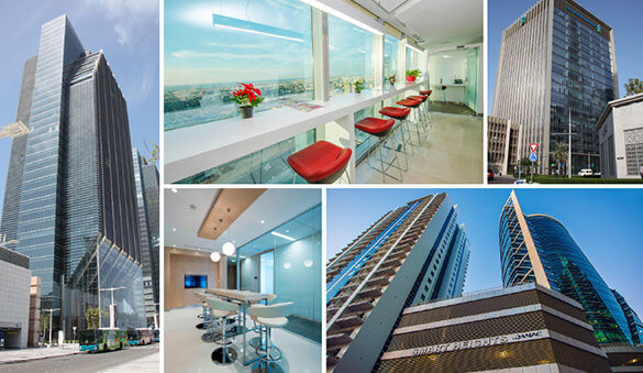Office space in Dubai and 23 other cities in United Arab Emirates