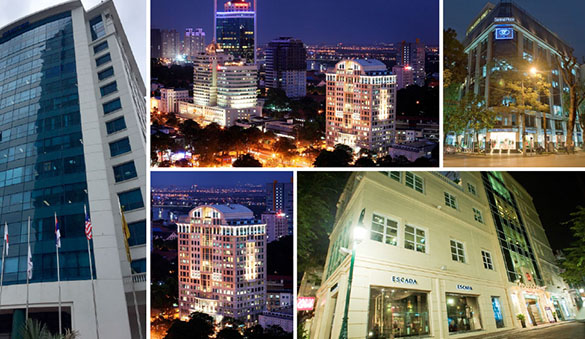 Office space in Ho Chi Minh City and 12 other cities in Vietnam