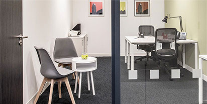 Office Membership includes the use of a rental office for privacy and focus