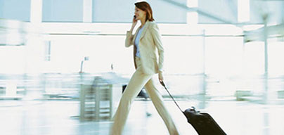 Tailored to the business traveller - presence in key travel destinations