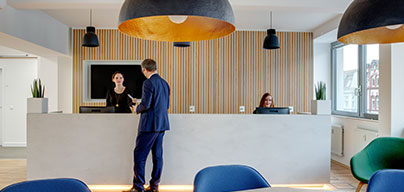 Meeting and office facilities at Luxembourg, Cloche D'Or