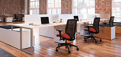 Ready to work - your space is set up for you before you arrive, just show up and get to work