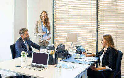 Виберіть уже сьогодні офісне приміщення потрібної площі з можливістю збільшити його в майбутньому.
