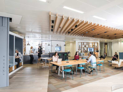 Coworking and shared office space in United States