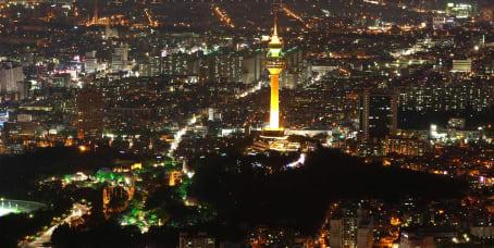 대구광역시의 오피스 공간