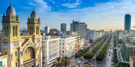 Tunis : bureaux