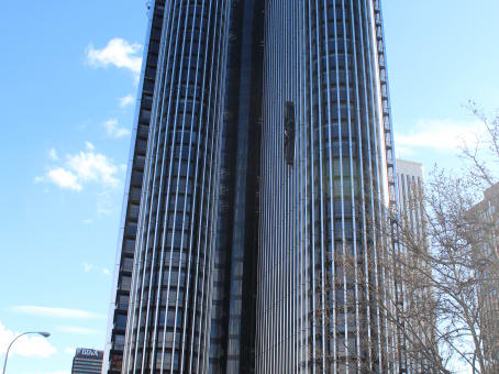 Building at Paseo de la Castellana 95-15, (Torre Europa) in Madrid 1
