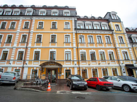 Building at 25B, P. Sagaydachnogo str, 4th-5th floors in Kiev 1