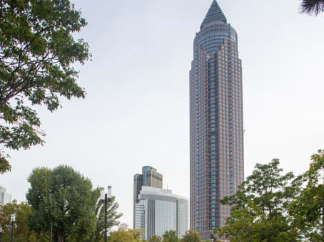 Building at Messeturm, 25th floor in Frankfurt 1