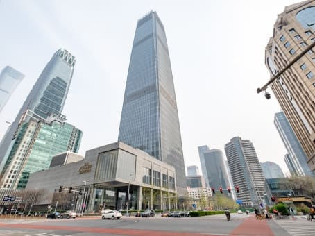 Building at 1 Jianguomenwai Avenue, 15F, China World Tower A in Beijing 1