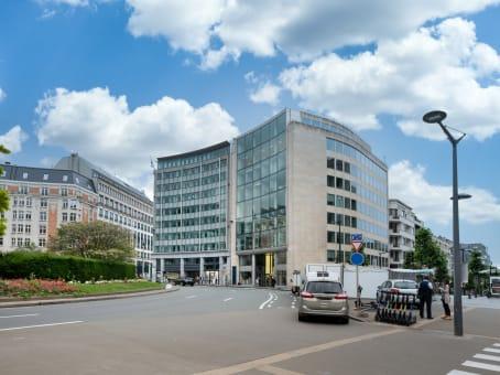 Mødelokalerne i Brussels EU Commission