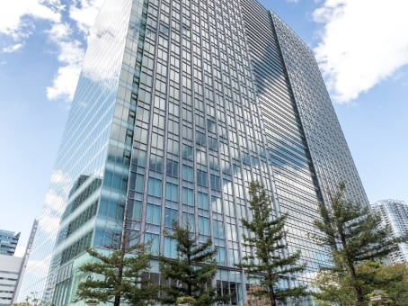 Meeting rooms at Tokyo Shiodome Building