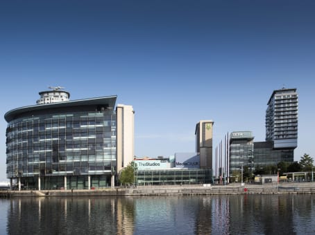 Building at Digital World Centre, 1 Lowry Plaza, The Quays, Salford in Manchester 1