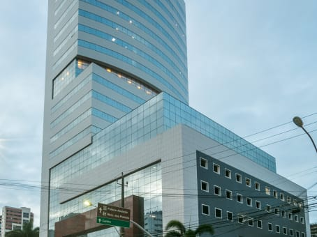 Building at 20th and 21st Floors, Building Etevaldo Nogueira Business, Dom Luis Av., 807 Meireles in Fortaleza 1