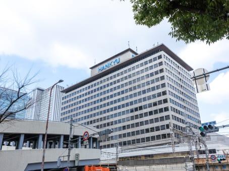 建筑位于Osaka16F Hankyu terminal building, 1-1-4 Shibata Kita-ku Osaka-shi 1