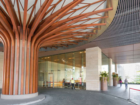 Mødelokalerne i Kuala Lumpur Sentral, CIMB