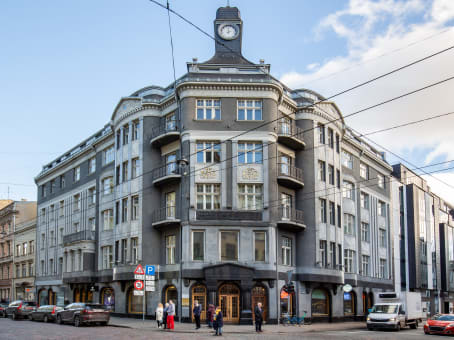 Building at 14 Terbatas street, 4th & 5th floors in Riga 1
