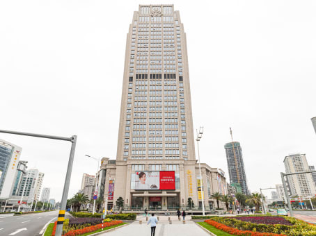Building at 1009 Middle Jidajiuzhou Avenue, 12/F, WFC in Zhuhai 1