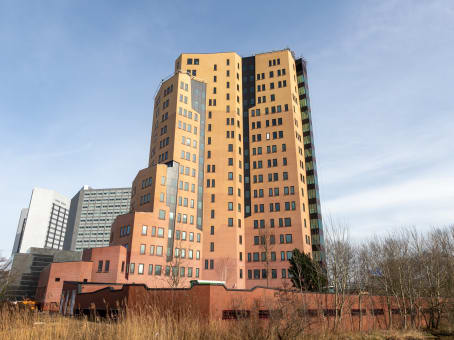 Mødelokalerne i Amsterdam Sloterdijk Teleport Towers