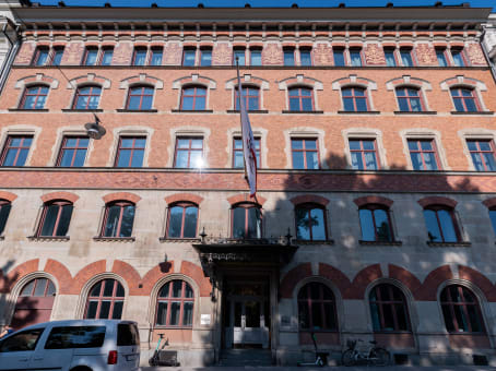 Gebäude in Engelbrektsgatan 9-11 in Stockholm 1