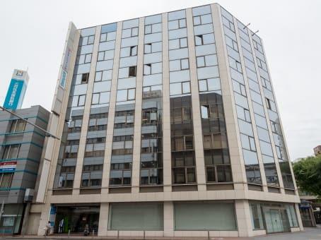 Lokalizacja budynku: ulica 1-1-1 Kajimachi, Kitakyushu Toyo Building 3F & 5F, Kokura kita-ku, Kitakyushu 1