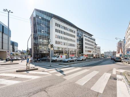 Building at Suché mýto 1 in Bratislava 1