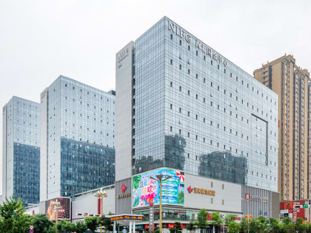Building at 14/F, Tower D, NIFC, Southwest of Fengchengba Road and Wenjing Road in Xi'an 1